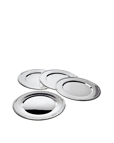 Godinger Set of 4 Revere Charger Plates