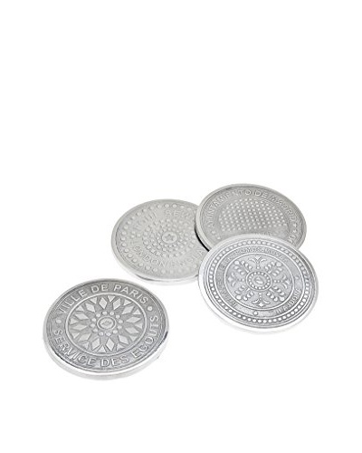 Godinger 4 Coasters Euro Cities Manhole