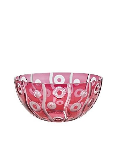 Godinger Large Deco Ruby Bowl