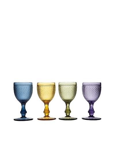 Godinger Set of 4 Assorted Belmont Goblets