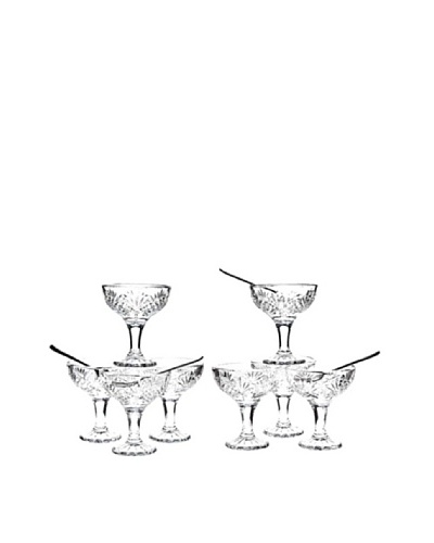 Godinger Dublin 16-Piece Taster's Coupe Set, ClearAs You See