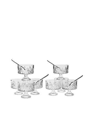 Godinger Dublin 16-Piece Taster's Trifle Set/HoneyAs You See