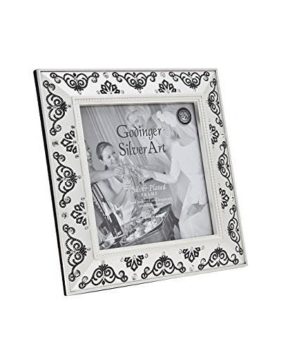 Godinger Swarovski Frame, Satin, 5 x 5