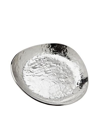 Godinger Lava Tri-Cone Plate, Silver