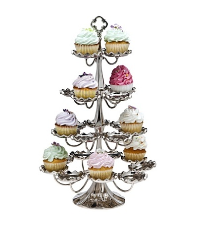 Godinger 4-Tier Cupcake Holder