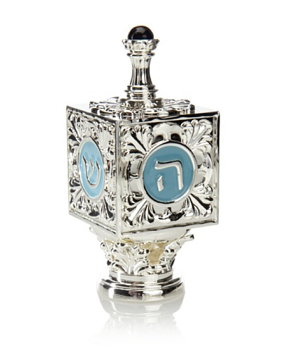 Godinger Silver-Plated Dreidel with Base