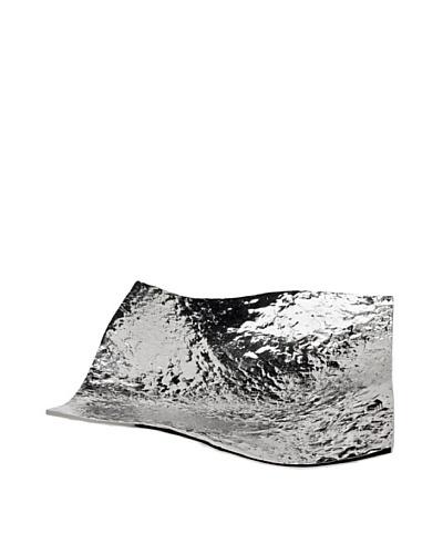 Godinger Lava Wavy Bowl, Silver