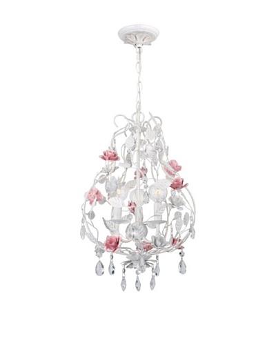 Gold Coast Lighting Rose & Crystal Chandelier