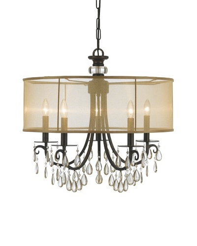Gold Coast Lighting English Bronze 5-Light Chandelier