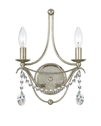 Gold Coast Lighting Antique Silver Sconce