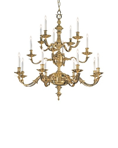 Gold Coast Lighting Traditional Solid Brass Chandelier