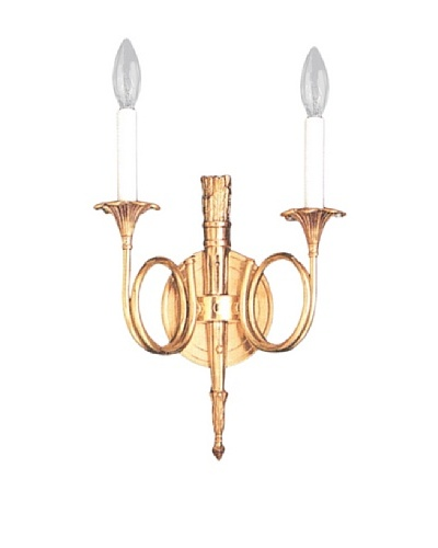 Gold Coast Lighting Cast Brass Wall Sconce