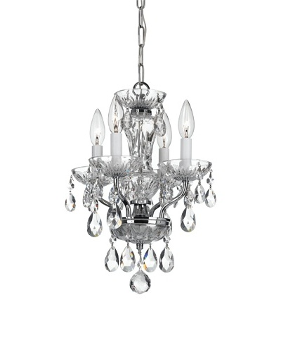 Gold Coast Lighting Chandelier, Chrome