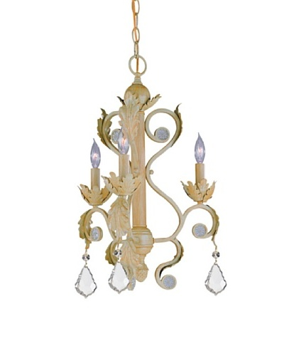 Gold Coast Lighting Gemma 3-Light Chandelier