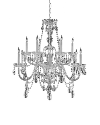 Gold Coast Lighting Hand Cut Crystal Chandelier
