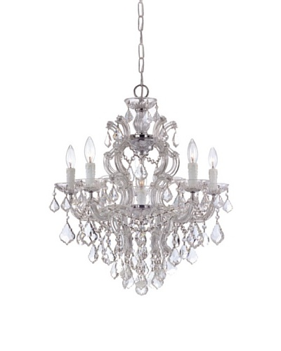 Gold Coast Lighting Reagan Chandelier, Chrome
