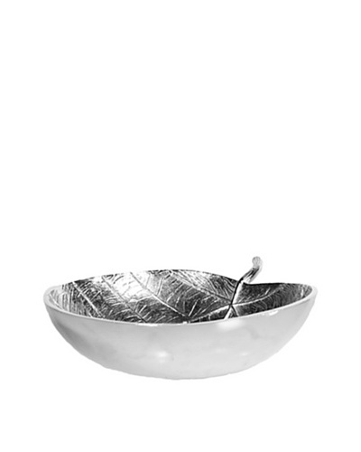 Gold Leaf Design Sea Grape Leaf Bowl