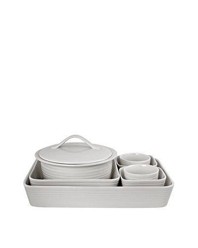 Gordon Ramsay Maze Bakeware 7-Piece Set, White