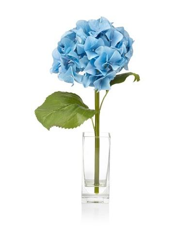 Winward Hydrangea In Rectangle Vase