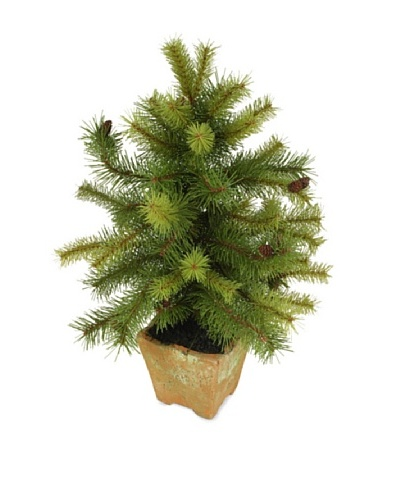 New Growth Designs Artificial Tabletop Pine Tree
