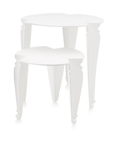 Grange Paris Nesting Tables, White