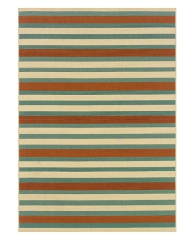 Granville Rugs Monterey Indoor/Outdoor Area Rug [Multi]