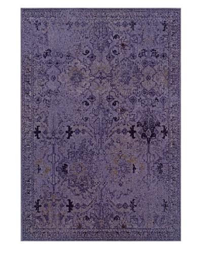 Granville Rugs Vintage Rug [Purple/Grey/Black]