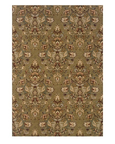 Granville Rugs Marino Rug [Beige/Olive/Green/Grey/Brown]