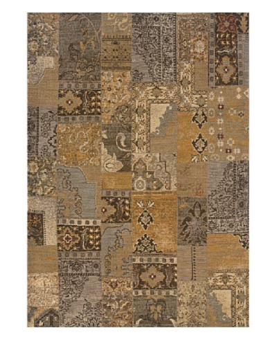 Granville Rugs Marino Rug [Grey/Tan/Brown/Gold]
