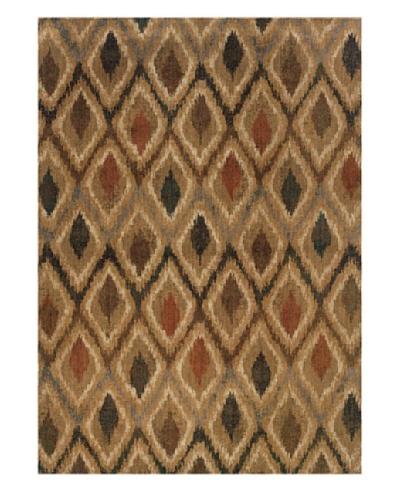 Granville Rugs Morocco Rug [Gold/Navy/Grey/Tan/Green]