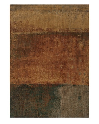 Granville Rugs Morocco Rug [Gold/Navy/Grey/Tan/Green]