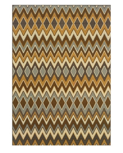 Granville Rugs Fiji Indoor/Outdoor Area Rug [Multi]