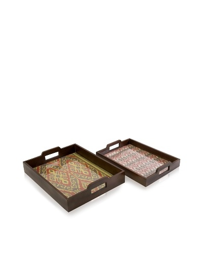 Set of 2 Zyana Trays