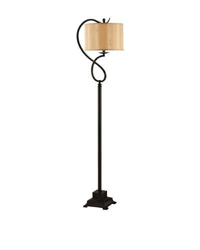 Greenwich Lighting Echo Floor Lamp, Bronze