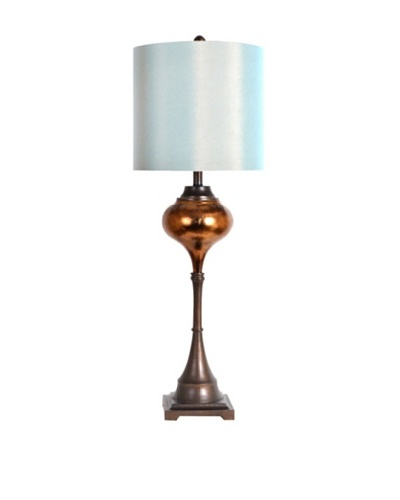 Greenwich Lighting Agatha Table Lamp, Antique Bronze