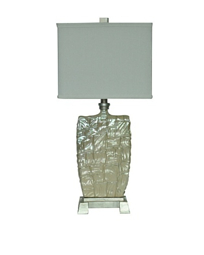 Greenwich Lighting Gallo Table Lamp, Opal Cream