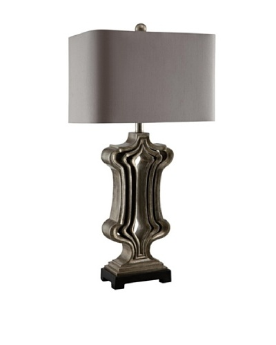 Greenwich Lighting Summit Table Lamp, Toasted Silver