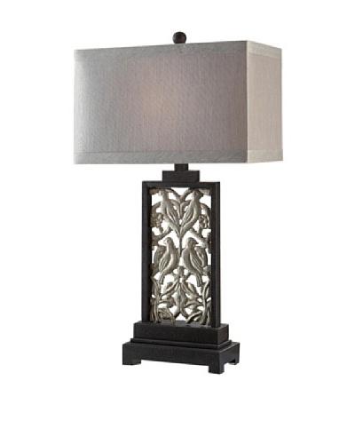Morgan Table Lamp, Toasted Silver/IronAs You See