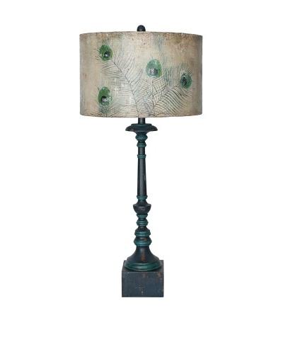 Guildmaster Peacock Lamp
