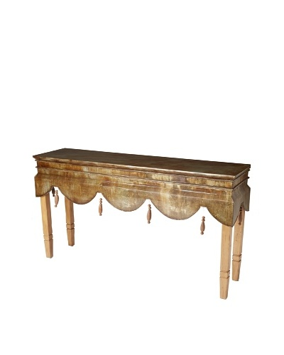 GuildMaster Manor House Console, Aged Metal