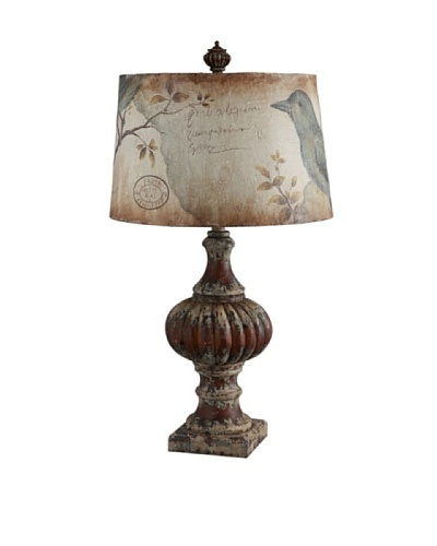 Guildmaster Feathered Friend Lamp