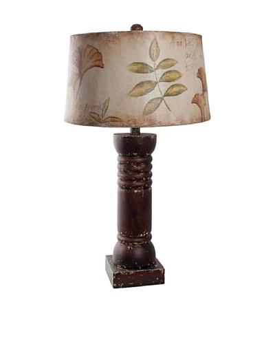 Guildmaster Foliage Column Lamp