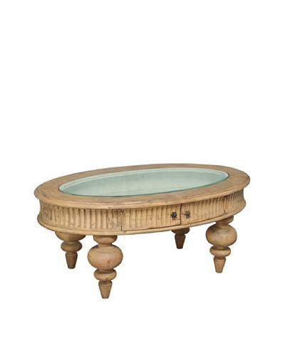 GuildMaster Cottage Shadow Box Table, Stain