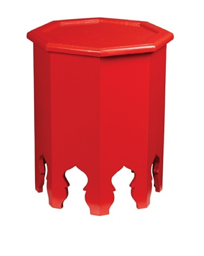 Guildmaster Weiss Side Table, Red