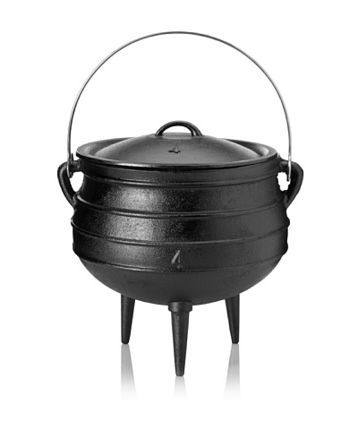 Guro Cast Iron Poy-Ke 4 (Rings) African Cast Iron Pot