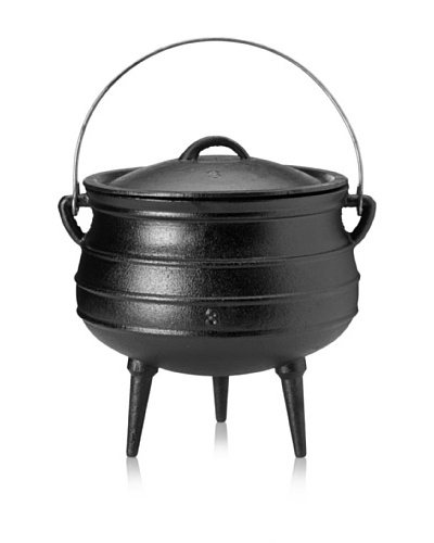 Guro Cast Iron Poy-Ke 3 (Rings) African Cast Iron PotAs You See