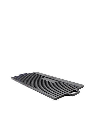 Guro Cast Iron Pro Griddle/Grill Pan [Black]