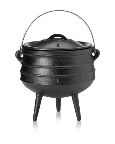 Guro Cast Iron Poy-Ke 1 (Rings) African Cast Iron Pot