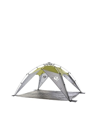 Guro Outdoor Journery Sun & Wind Shelter w/Inner Tent Extension, Green/Grey