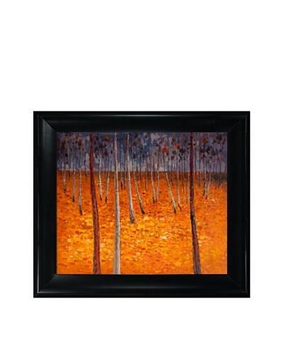 Gustav Klimt's Beech Forest I Framed Oil Painting